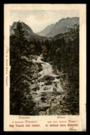 Tatra - Nagy Tarpatak, Grosse Kohlbach Oberer Wasserfall - Slowakije