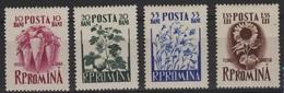 AGRI-8 - ROUMANIE N° 1418/21 Neufs** Thèmes Agriculture - Plantes - 1948-.... Republiken