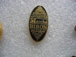 Pin's Arthus Bertrand, Antiquités Marché BIRON - Arthus Bertrand