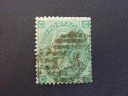 GRANDE BRETAGNE, Année 1867-69, YT N° 37 Planche 4 Oblitéré  (cote 40 EUR) - 1840-1901 (Victoria)