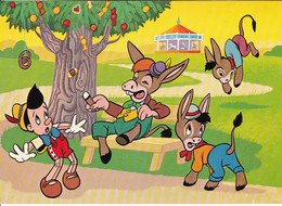 AK Pinocchio Und Die Unartigen Jungen Verwandeln Sich In Esel (45567) - Comicfiguren
