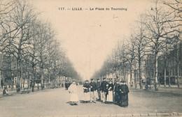 Lille AT 117 La Place De Tourcoing 1911 - Lille