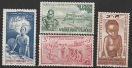 AEF Poste Aérienne N° 10, 11, 12, 13 * - A.E.F. (1936-1958)