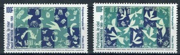 French Polynesia, Matisse, French Painter, Sea And Sky 2019, MNH VF a Pair - Ungebraucht