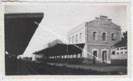 VIEJA FOTO DE LA ESTACION Venta De Baños / 1934 / GARE STATION VENTA DE BANOS - Palencia