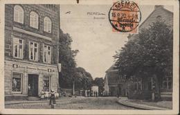 YT Deutsches Reich Surcharge Memel Gebiet N°3 CAD Memel 15 9 20 CPA Memel Steintor Occupation Allemande De La Lituanie - Memel (Klaïpeda)