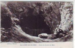 65. BAGNERES DE BIGORRE . ENTREE DES GROTTES DU BEDAT . ANIMEE . Editeur BRAVAY - Bagneres De Bigorre