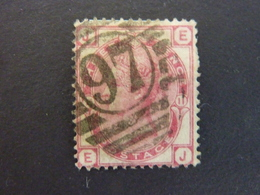 GRANDE BRETAGNE, Année 1873, YT N° 51 Pl.11 Oblitéré, (cote 35 EUR) - 1840-1901 (Victoria)