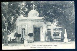 Cpa Du 54  Nancy Société Nancéienne De Crédit Industriel Et De Dépots -- Pavillon De L' Exposition Nancy 1909  DEC19-13 - Nancy