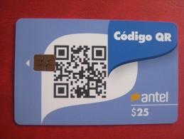 Uruguay TC 547a Código QR $25 - Uruguay
