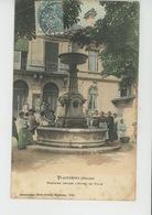 PLAINFAING - Fontaine Devant L'Hôtel De Ville - Plainfaing