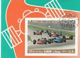 Ajman 1969 Bf. 91A Car Racing - Automobilismo Formula 1 Perf. - Ajman