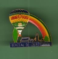 MONTGOLFIERE ANNONAY *** BERCEAU DE L'AEROSTATION *** 2015 (15) - Fesselballons
