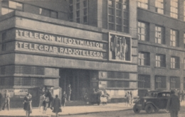 AK - POLEN Warschau - Telekomunikacja - Postes Et Telegraphes - 1938 - Polen