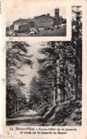 LE MONT-PILAT - FERME DE LA JASSERIE ET ROUTE DE LA JASSERIE AU BESSAT - ANNÉES 60 - EDITIONS CELLARD - Mont Pilat