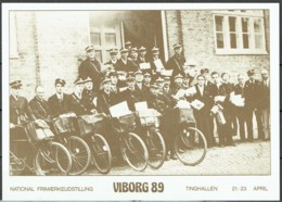 Denmark 1989. Stationery:. Stamp Exhibition Viborg 89  MNH - Enteros Postales