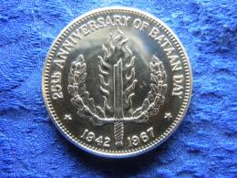 PHILIPPINES 1 PESO 1967, KM195 Rubbed - Filipinas