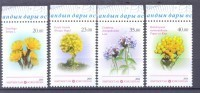 2014. Kyrgyzstan, Medicinal Plants, Issue II, 4v Perforated, Mint/** - Kirgisistan