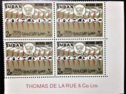 "Sudan, 1 X 4 Stamps, ""Politics"", ""National Unity"" 1972, 4 P, /MINT - Sudan (1954-...)"