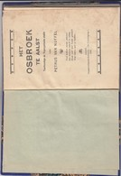 Petrus Van Nuffel - Het Osbroek Te Aalst - Taalkundige En Toponymische Studie 1916 - Osbroeck - Libros, Revistas, Cómics