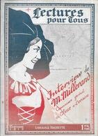 LECTURE POUR TOUS - DU 15  OCTOBRE  1919 - Lorraine - Vosges