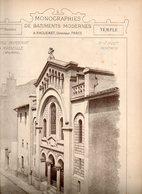 Monographie De Bâtiments Modernes N° 96 : Temple Protestant à Marseille (13) - Architecture