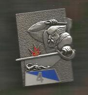 Insigne Delsat , G 3287 , 4 E Régiment Du Matériel , 2 Scans , Frais Fr 2.55 E - Army