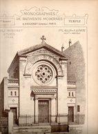 Monographie De Bâtiments Modernes N° 96 : Temple Protestant à Tunis (Tunisie) - Architecture