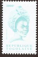 Togo Bella Bellow 3000f Chanteuse Singer Imprinted 2004 Michel A3367 Mint MNH - Togo (1960-...)