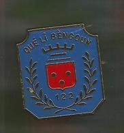 Insigne Delsart , G 2002 , 122 E Régiment D'infanterie , Qué Li Bèngoun , 2 Scans , Frais Fr 2.25 E - Army
