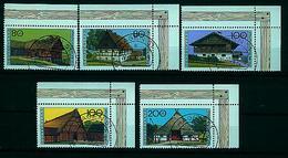 BUND---Nr. 1819 / 1823  ,Eckrand  Gestempelt - [7] Federal Republic