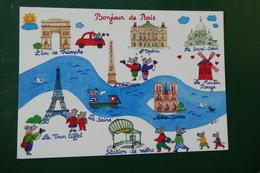 M 3 )  PARIS  BONJOUR DE PARIS  M GAU 200 - Frankreich