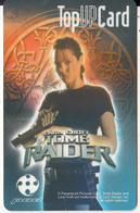 SINGAPORE - Lara Croft Tomb Raider, SingTel Prepaid Card $25, Exp.date 11/11/02, Used - Singapore