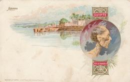 ASSOUAN , Egypt , 1890s ; Tete De Ramses II - Aswan
