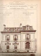 Monographie De Bâtiments Modernes N° 88 : Hôtel à Taverny (95) - Architecture