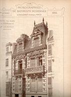 Monographie De Bâtiments Modernes N° 88 : Hôtel R Thiers à Le Havre (76) - Architecture