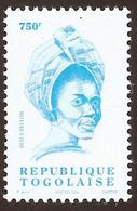 Togo Bella Bellow 750f Chanteuse Singer Imprinted 2004 Michel A3365 Mint MNH - Togo (1960-...)