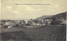 Carte POSTALE  Ancienne De BILLY Sous Les COTES - Vue Générale Prise Des Cotes - Francia