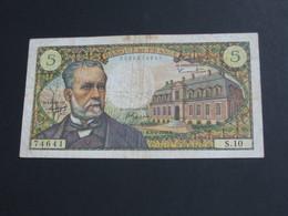 5 Cinq Francs Pasteur - 5-5-1966     **** EN ACHAT IMMEDIAT **** - 5 F 1966-1970 ''Pasteur''