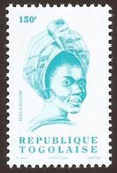 Togo Bella Bellow 150f Chanteuse Singer 2004 Imprinted Michel 3361 Mint MNH - Togo (1960-...)