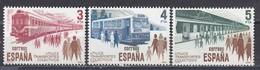 Spain 1980 - Transport, YT 2206/08, Neufs** - 1931-Heute: 2. Rep. - ... Juan Carlos I