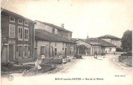 Carte POSTALE  Ancienne De BILLY Sous Les COTES - Rue De La Mairie - Francia