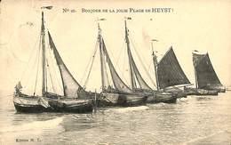 CPA - Belgique - Heist - Heyst - Bonjour De La Jolie Plage De Heyst - Heist