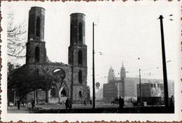 Photo Originale Guerre 1939-45 Eglise Dresden, Sophienkirche (avant La Destruction!) - Oorlog, Militair