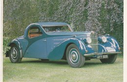 BUGATTI TYPE 57 ATALANDE (France). 1937 - Voitures De Tourisme
