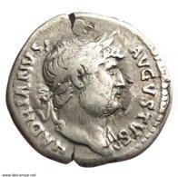 [H] +++ AR Denarius - HADRIAN -- RIC 165 -- Roma Reverse +++ - 3. Die Antoninische Dynastie (96 / 192)