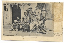 Indigènes Dahoméens... 1908  (timbre Décollé) - Dahomey