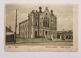 Judaica Jewish Synagogue Dés Hungary Ca1910's Judaika Juive Juif - Jewish