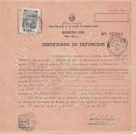 Argentina. 1963. Marca Municipale $ 30. - Su Certificato - Argentina