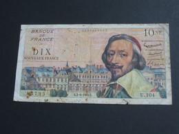 10 Dix Francs RICHELIEU -2-6-1960   **** EN ACHAT IMMEDIAT **** - 1959-1966 Francos Nuevos